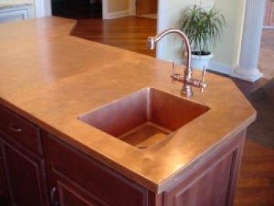 Guide To Building A Copper Countertop